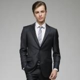 重庆欧迈男士韩版修身含羊毛重庆西服套装