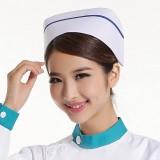 2013新款 护士帽子 白蓝粉红色护士四季帽子MZ-01 特价