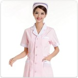 重庆护士服短袖夏装蓝色白色美容工作服药店口腔医院服