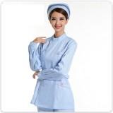 重庆护士服套装 牙医口腔分体服长袖冬 药店工作服美容服ICU服
