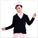 特价正品包邮深蓝加厚护士毛衣 护士外套开衫羊毛衫医生服重庆护士服