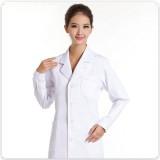 女医生服 卫校实验服 重庆护士服长袖白色冬装 药店服 白大褂