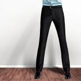 欧迈商业男士西裤 男装修身西裤 商务正装男西装裤 免烫休闲西裤 韩版男士