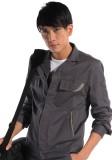 欧迈工作服 工装冬季长袖工作服 工服纯棉工人工作服上衣