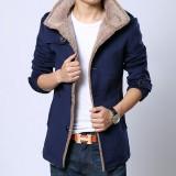 欧迈大衣新款秋冬季男装男士中长款风衣毛呢子大衣韩版修身潮披风