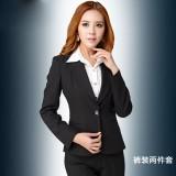 女装正装时尚韩版裙裤装套装工作服垂感重工商务