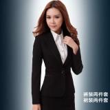 韩版女正西装时尚OL清新淑女工作服外套裙裤秋冬