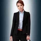 韩版职业女装OL清新商务正装时尚垂感工作服 女裙裤套三件套