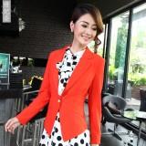 秋装新品韩版修身一粒扣小西装女外套长袖女士小重庆西服潮