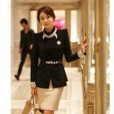 春秋女装新款韩版潮修身小西装上衣外套气质OL重庆西服