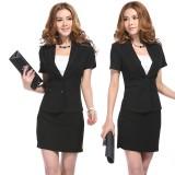 职业女装套装套裙两件套OL通勤气质修身正装重庆西服西裙