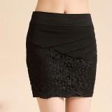 新款黑色蕾丝OL短裙半身裙韩版包臀裙打底裙子包裙