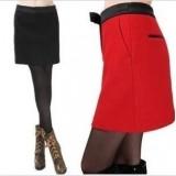 款羊毛时尚西装裙半身裙子 女重庆西服裙子 时尚新款