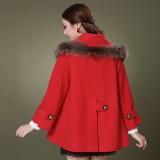 秋冬装新款女装羊毛呢外套呢子大衣