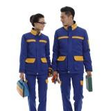 冬季长袖工作服 工衣工服防静电反光棉衣 套装