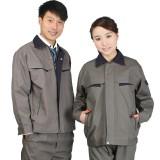 全棉工作服套装男女重庆劳保服长袖工作服带里帆布加油站防静电工作服