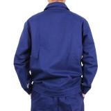纯棉工装 纯棉工作服男 工作服套装 长袖工作服 重庆劳保服