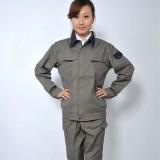 双层纯棉工作服 重庆劳保服 车间服 电焊服 防火服 男女套装