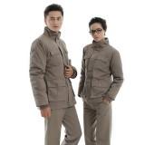 冬季长袖工作服 工衣工服重庆劳保服纯棉工人棉衣套装