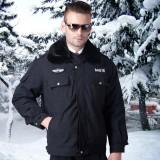 保安冬季执勤棉袄保安防寒大衣城管保暖服装安保冬装棉服