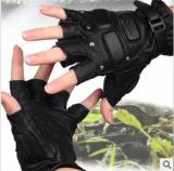 我是特种兵特种战术高档真皮格斗防护手套 打架手套 格斗手套送礼