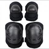 特种兵护具 护膝 户外CS骑行安全防护 护肘套装战术护膝