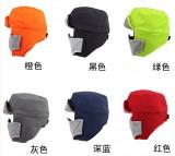 新品雷锋帽 防水防雨雪面料口罩雷锋帽子冬季防风沙防护帽