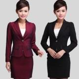 OL职业套装女装 秋装女士正装 重庆西服套装 西装套裙韩版时尚工作服