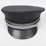 保安服配件 物业保安大檐帽 保安帽 大盖帽