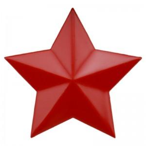 经典收藏品/老式红五星 红卫兵帽徽/红色五角星