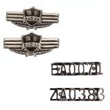 正品保安肩章 肩章/ZP police zq肩章 软肩章/臂章/胸号/胸标