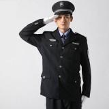 保安制服春秋装 藏青色保安服冬装 重庆西服式保安服套装全套