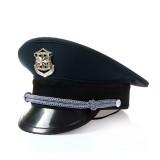 新式保安服配件 物业保安大檐帽 保安帽 大盖帽