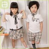 重庆校服新款儿童夏装韩版英伦学院风幼儿园服班服学生重庆校服表演出服