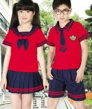重庆校服中学小学生夏季重庆校服班服幼儿园园服夏装套装演出服