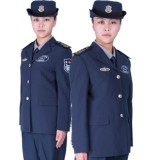 新式重庆西服式女保安常服 保安服套装 女士保安制服 女式保安服装春秋
