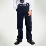 重庆校服儿童装英伦男童纯棉藏青色休闲长裤新款