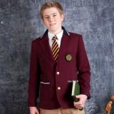 重庆校服英伦童装儿童小西装外套男童重庆西服