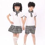 重庆校服中学生重庆校服学生服装六一合唱表演出服夏季套装批发