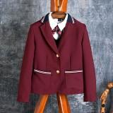 重庆校服英伦童装儿童小西装外套女童重庆西服