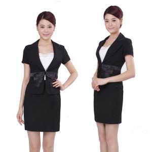新款夏装高档职业套装 工作服套装 时尚OL职业套裙