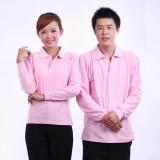 快餐厅服务员重庆T恤长袖春 秋冬装t恤 广告衫工作服 女可定制t恤衫