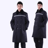保安大衣 加厚 保安服冬装 保安防寒服 保安制服冬装重庆劳保服