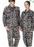 促销迷彩服 学生 军训服 训练服 军迷俱乐部 迷彩服套装 工人服装