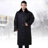 冬装保安大衣 加长加厚 多功能防寒棉大衣 军大衣 保暖大衣