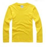 新款长袖广告衫纯色空白重庆T恤圆领全棉男女打底文化衫班服定制印图