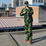 迷彩服套装 男女训练工作服 学生工厂军训 作训服重庆劳保服 迷彩批发