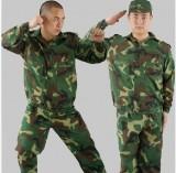 促销迷彩服 学生 军训服 训练服 军迷俱乐部 劳保工作服 特价批发