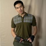 短袖男士休闲青年短袖衫军绿色宽松重庆T恤正品限时特价