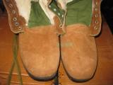 劳保 安全鞋 防砸防刺 棉鞋钢包头 冬季 保暖 大头鞋 翻毛牛皮鞋